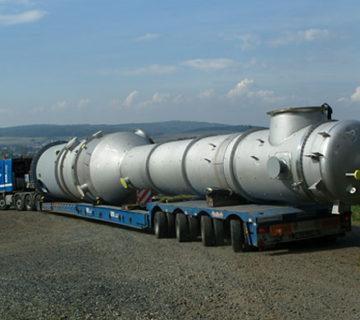 Schwertransporte - Speedlog GmbH - Internationale Spedition & Logistik