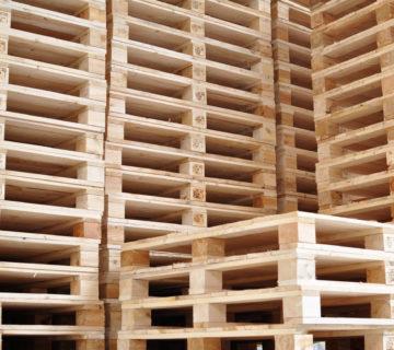 Lagerhalle Europaletten / industry depot