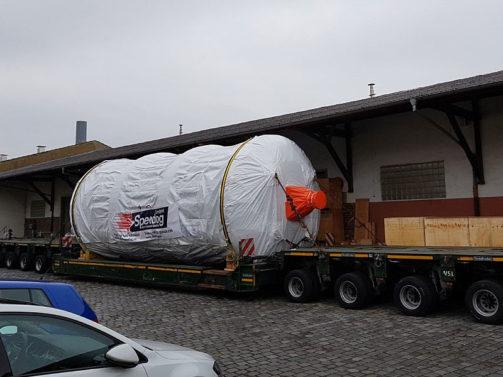 Speedlog transportiert Trocknungsanlage nach Schweden - Speedlog GmbH - Internationale Spedition & Logistik