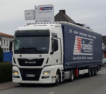Internationale Landtransporte - Speedlog GmbH - Internationale Spedition & Logistik
