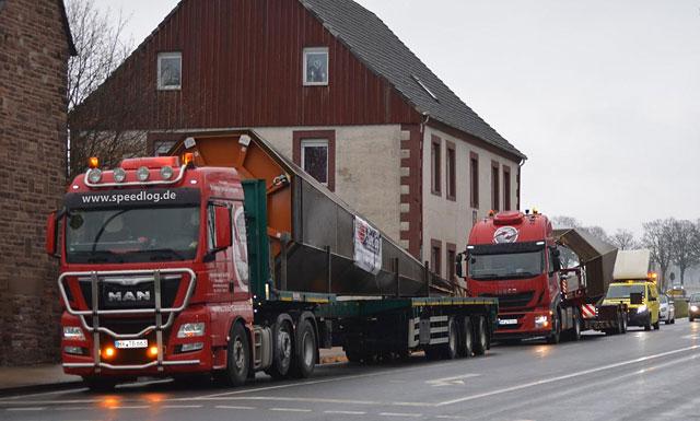 Transport einer Kirchturmspitze - Speedlog GmbH - Internationale Spedition & Logistik