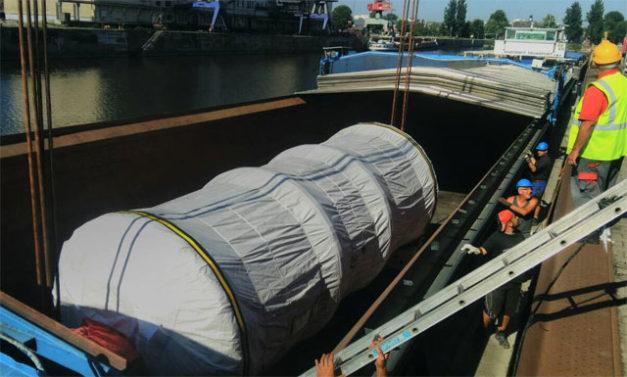 Speedlog transportiert ein Röhrenbündel nach Bulgarien - Speedlog GmbH - Internationale Spedition & Logistik