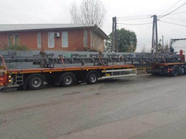 Speedlog befördert Fahrbahnübergänge aus der Slowakei - Speedlog GmbH - Internationale Spedition & Logistik